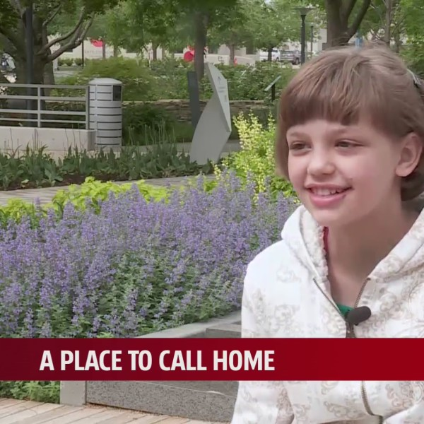 11-year-old remains positive, upbeat despite 8-year search for a place to call home