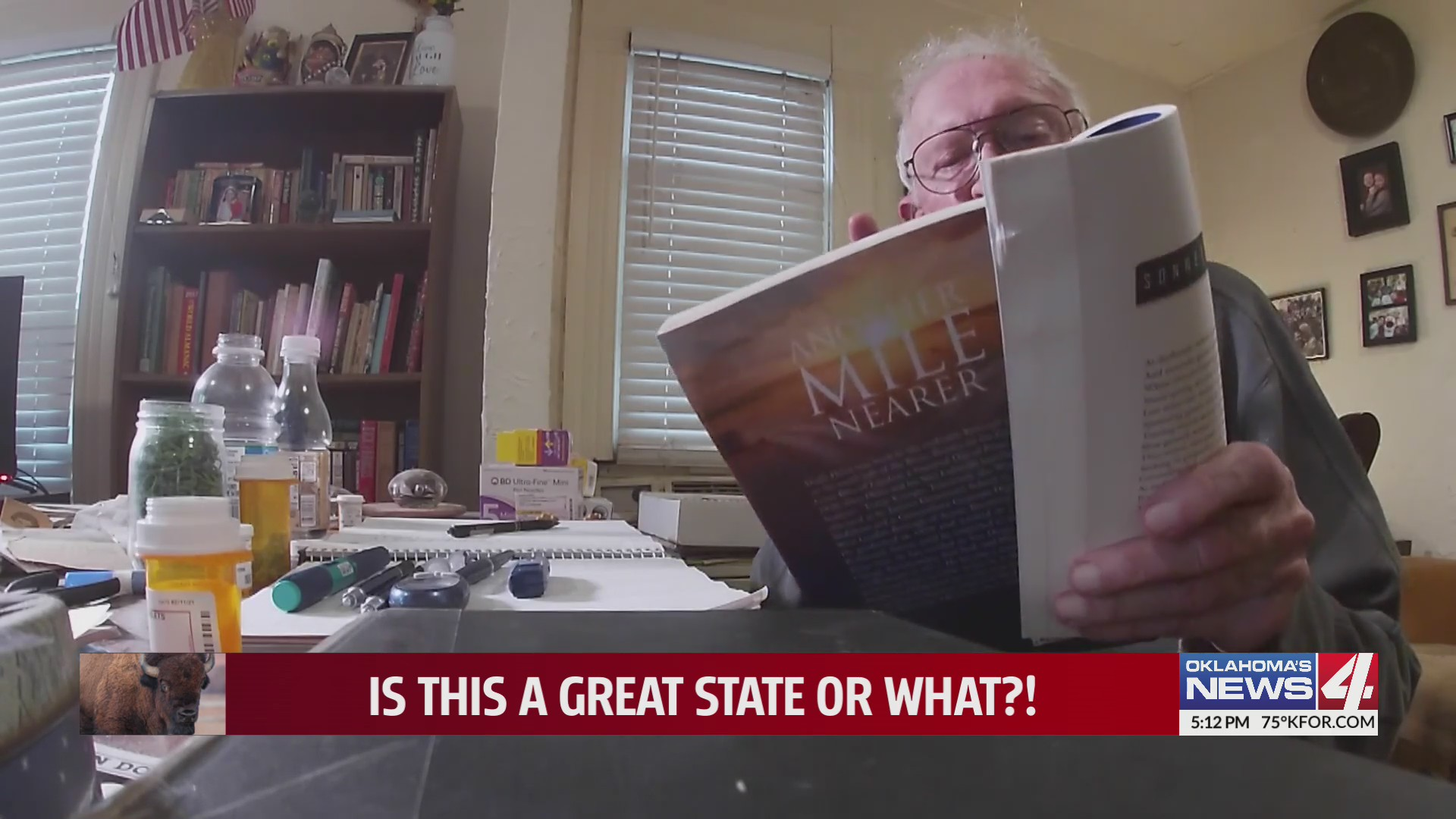 An Englishman in Oklahoma writes a book of sonnets, Shakespeare style