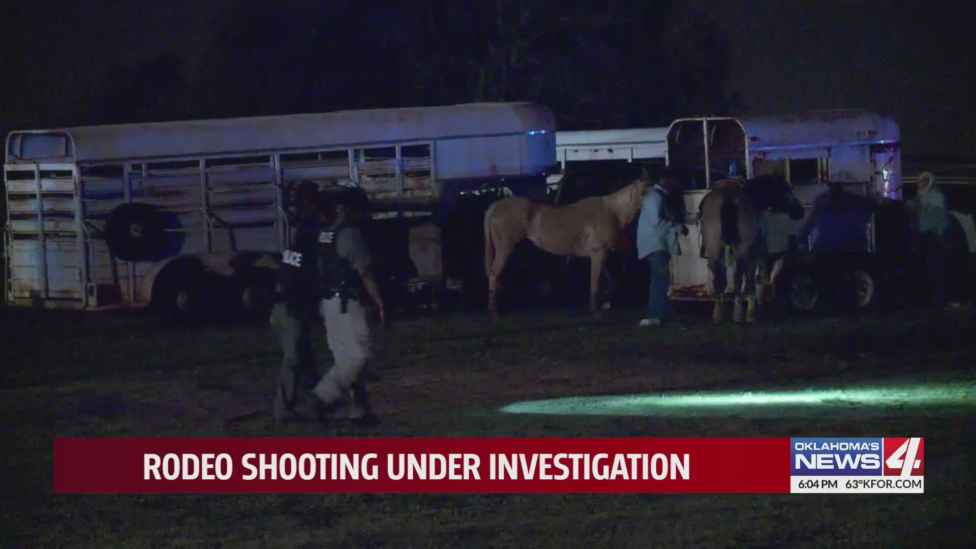 Authorities investigating triple shooting at rodeo in Choctaw, say drive-by shooting in Spencer may be connected