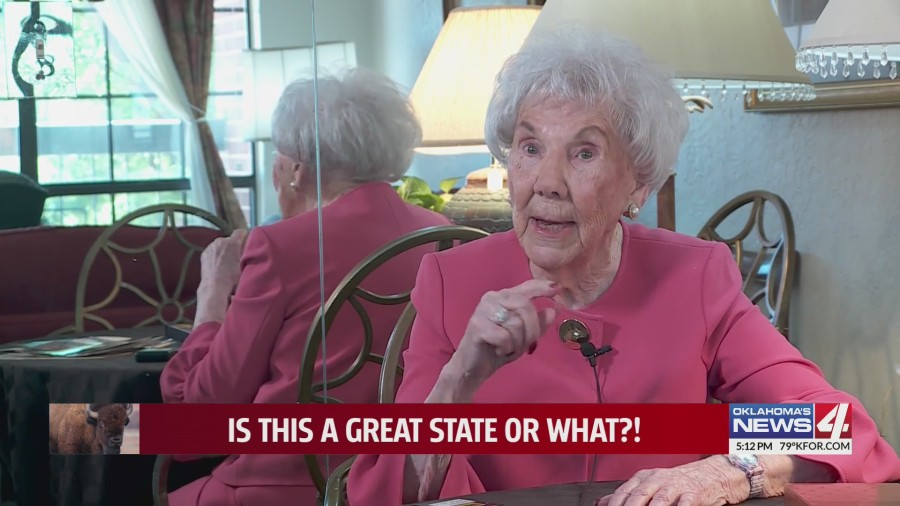 Even at 103, this Edmond retiree claims motherhood as her greatest accomplishment