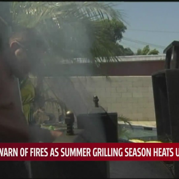 Firefighters urge grilling caution after close call for Oklahoma City family