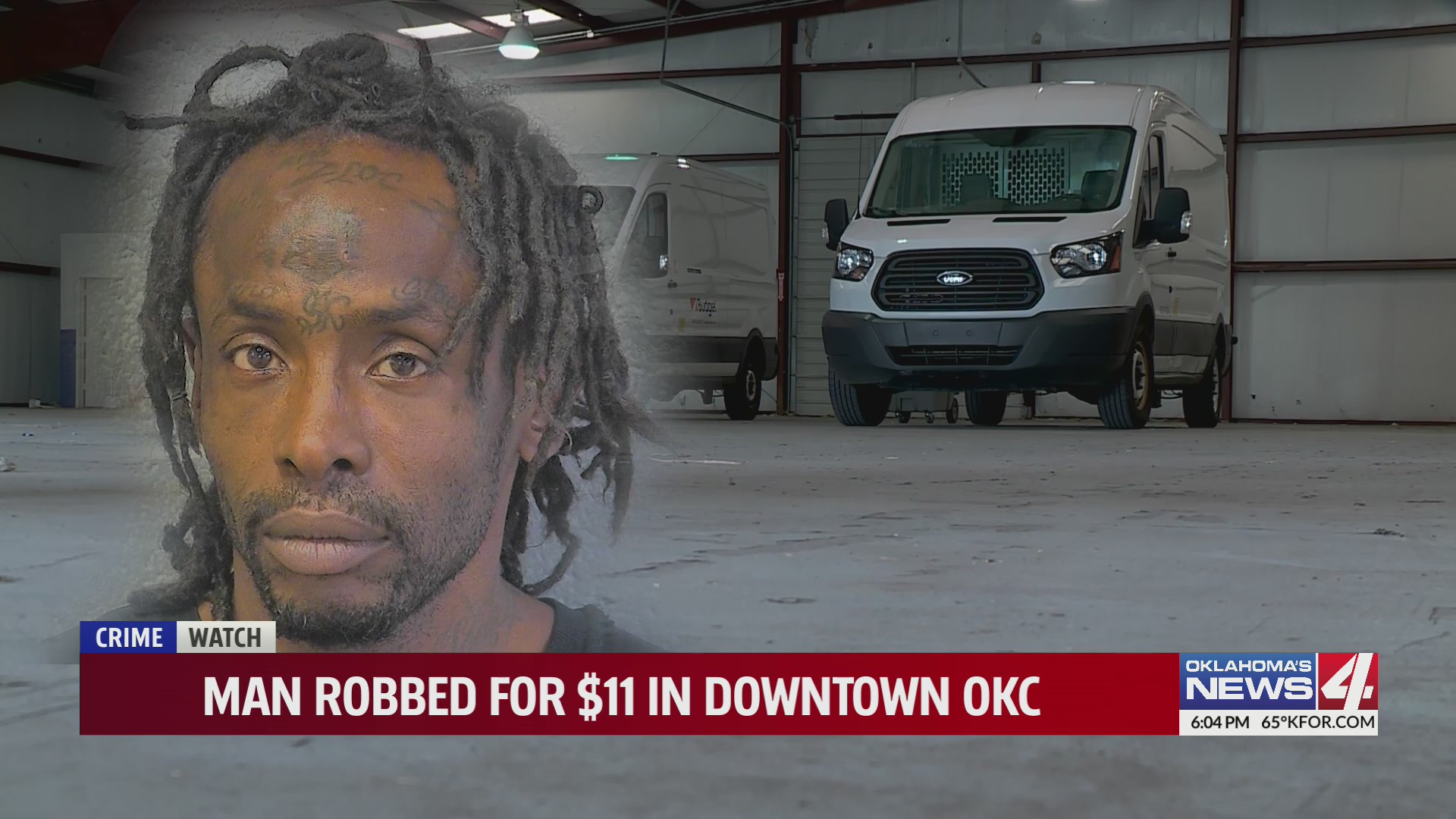 OKCPD: Oklahoma man robbed for $11 in broad daylight by repeat offender