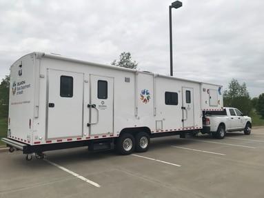 OSDH Mobile Wellness Unit trailer