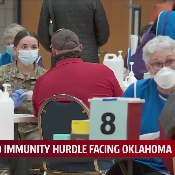 """OU top doctor: Focus on vaccinating all Oklahomans, not on reaching """"herd immunity"""""""