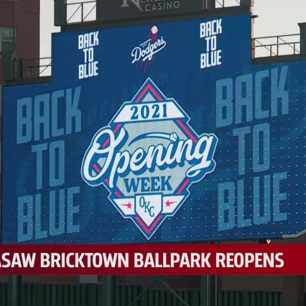 Oklahoma City Dodgers welcome fans back to stadium for home opener
