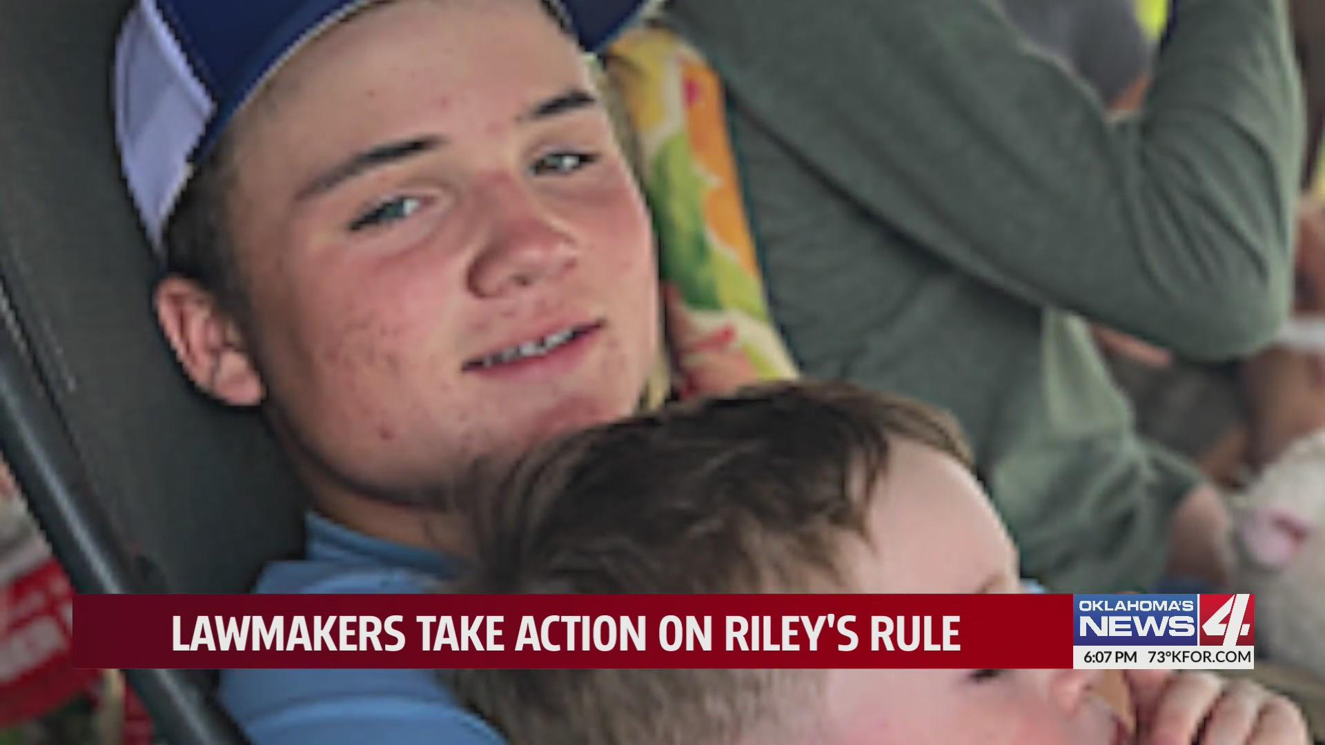 Riley's Rule passes through Oklahoma Legislature to help injured student athletes