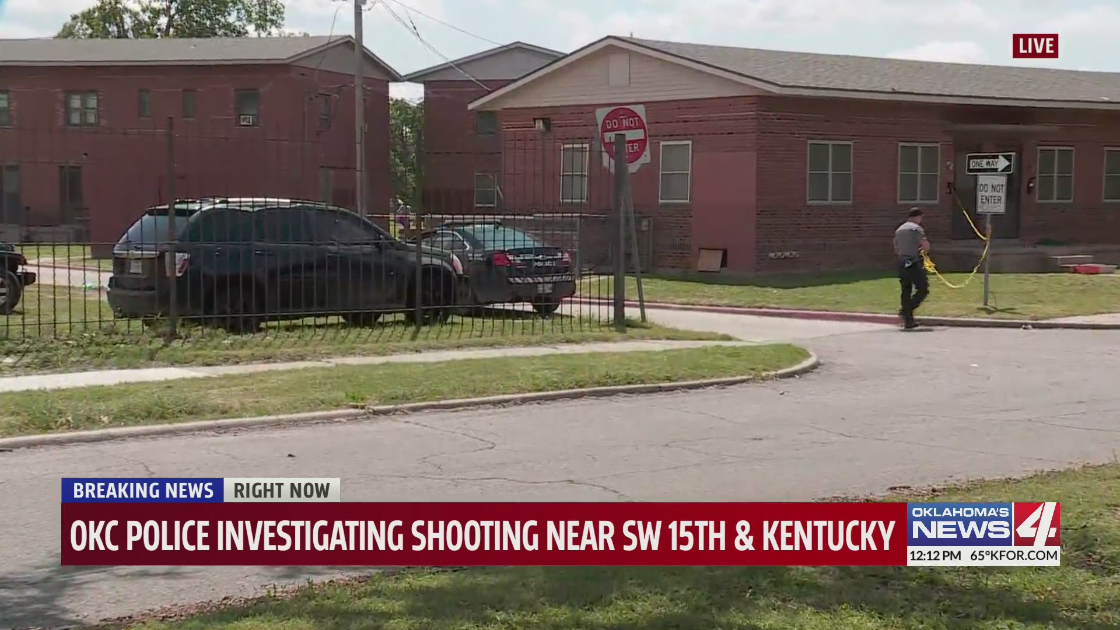 SW 15th and Kentucky shooting