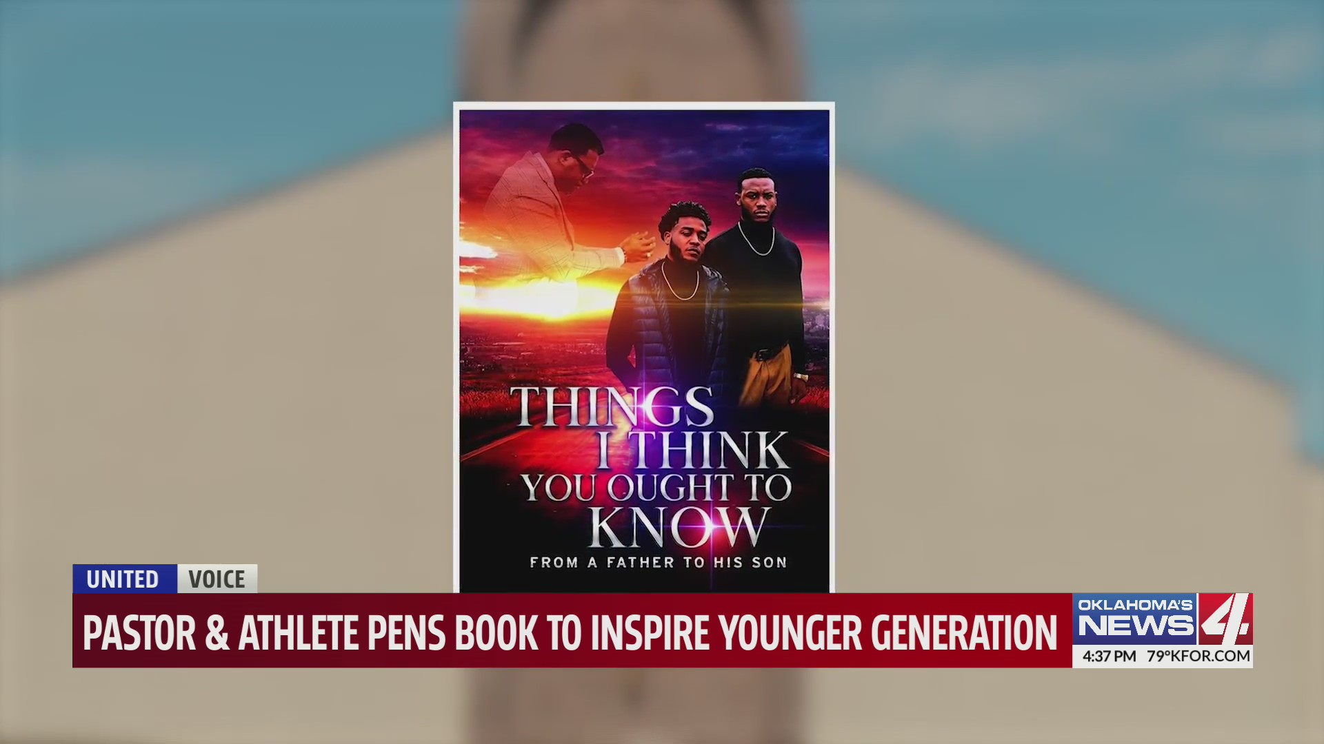 """Things I Think You Ought to Know, From a Father to a Son"": Pastor, former OU football player releases book"