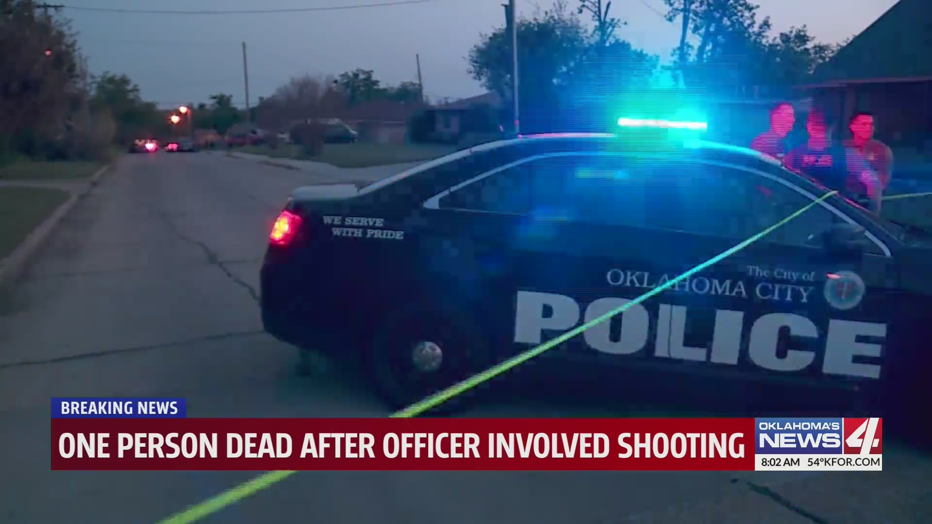 image of OKC Police car