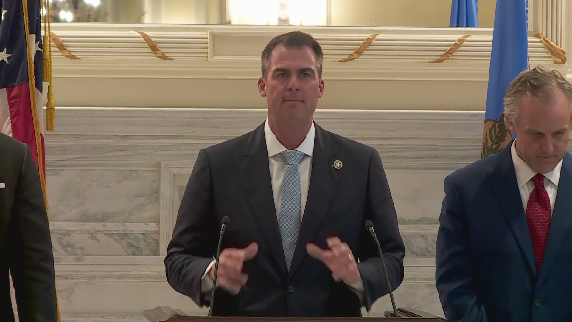 Image of Oklahoma governor Kevin Stitt
