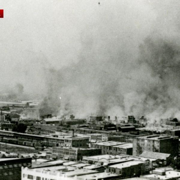 Tulsa Race Massacre photo courtesy of OSU-Tulsa