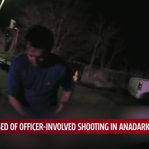 body camera footage from Anadarko PD