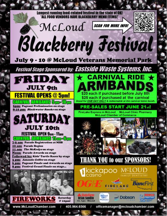 2021 Blackberry Festival