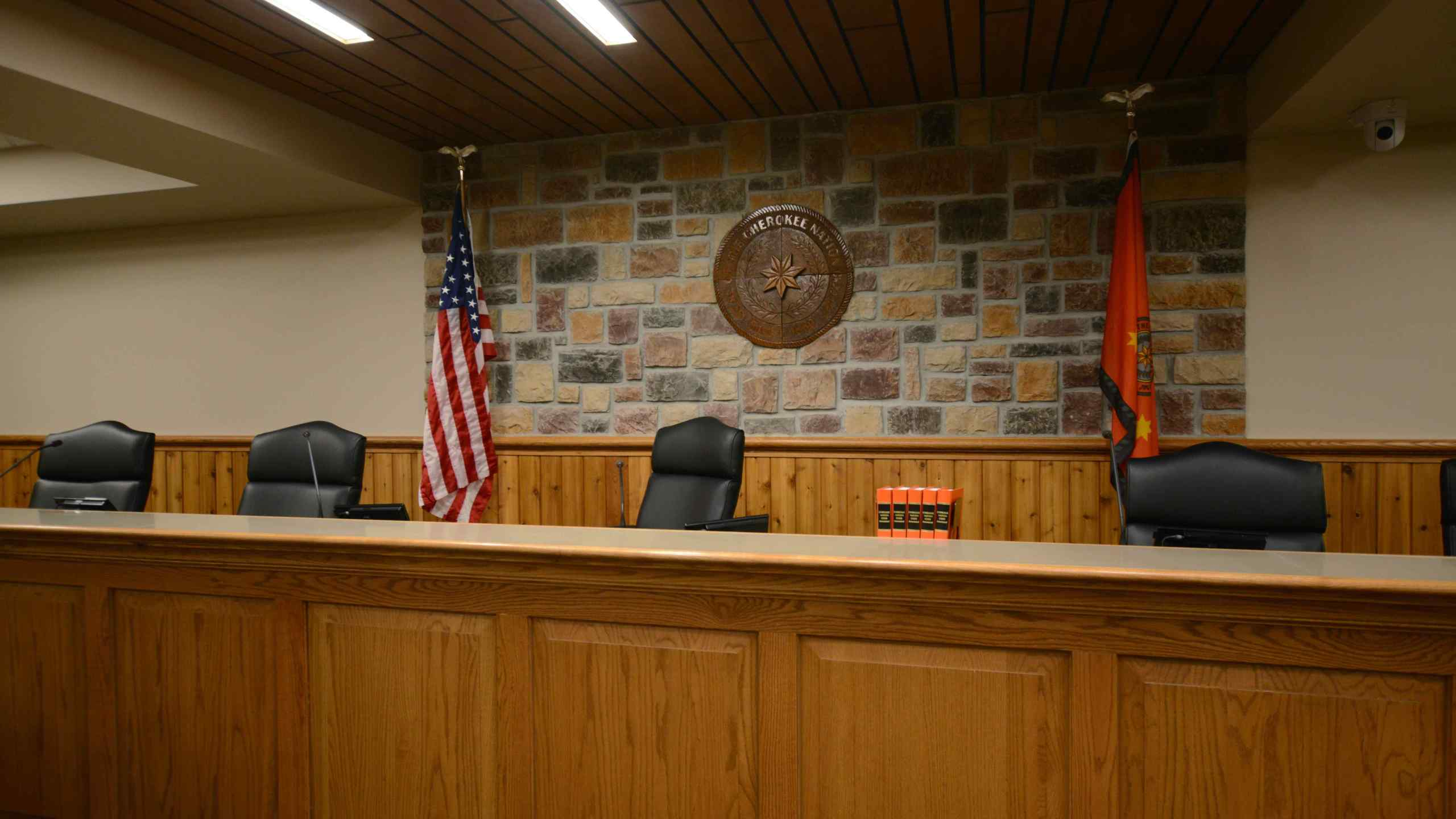 Cherokee Nation District Courtroom