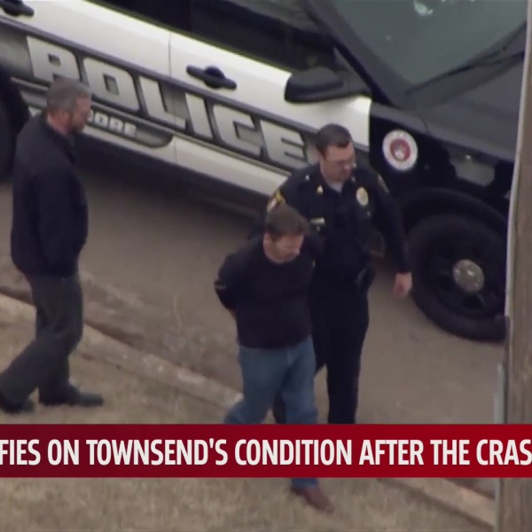 Max Townsend arrest at the scene