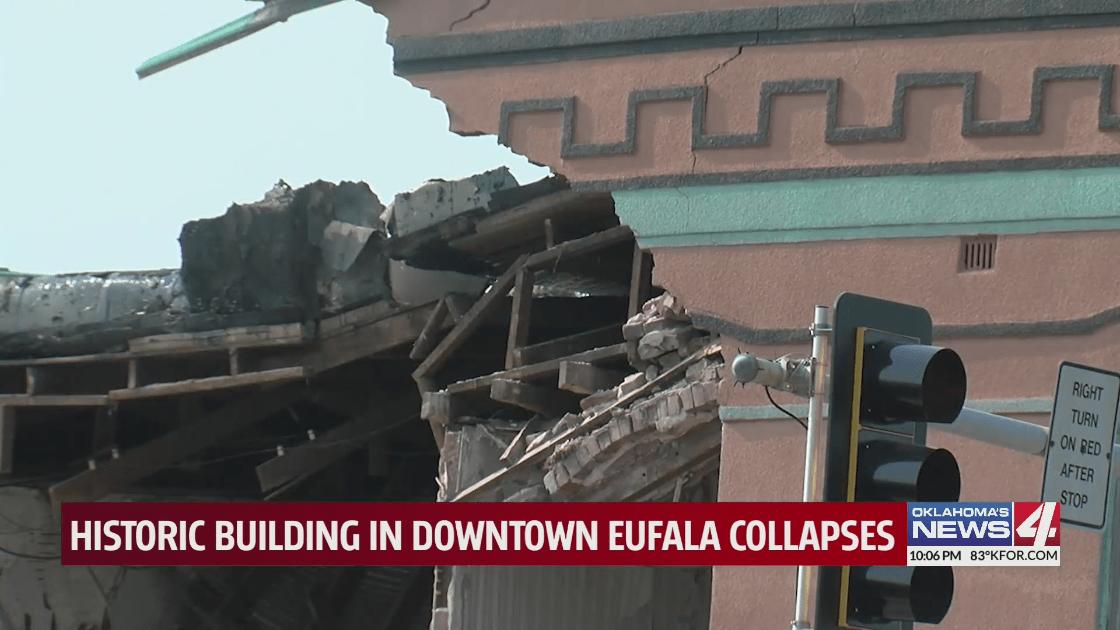 Eufaula collapse