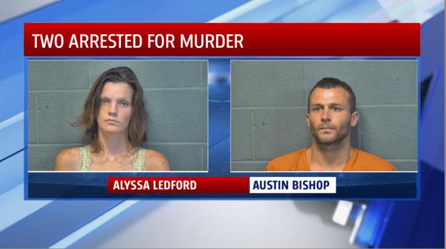 Alyssa Ledford and Austin Bishiop