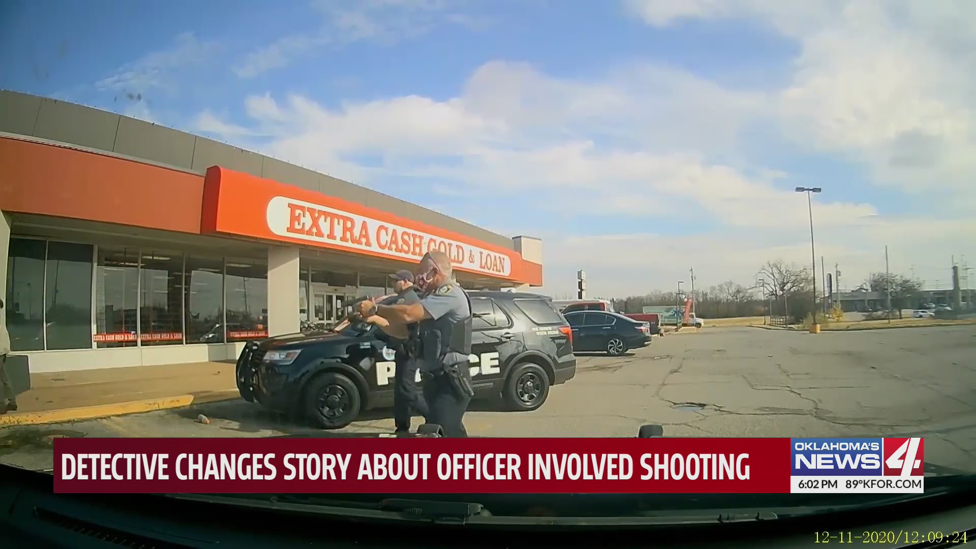 Body cam at the scene of the December 2020 officer-involved shooting