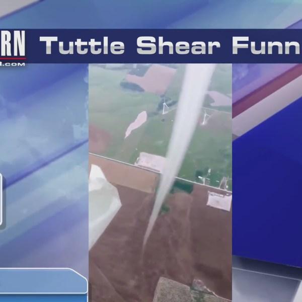 Oklahoma man captures tornado on camera midflight