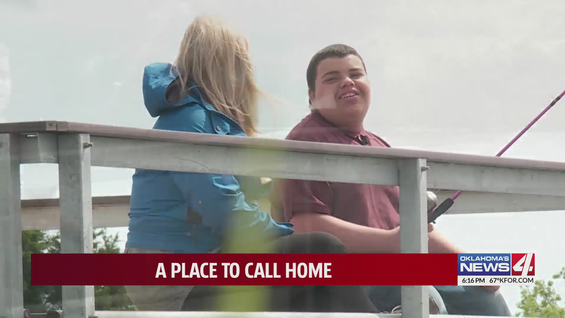 Oklahoma teen continues search for his own place to call home after sister's adoption