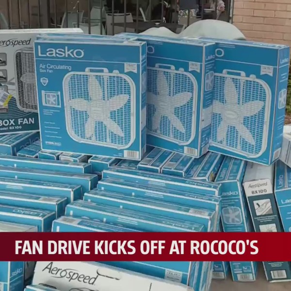 Oklahomans donate almost 100 fans during drive kick-off event
