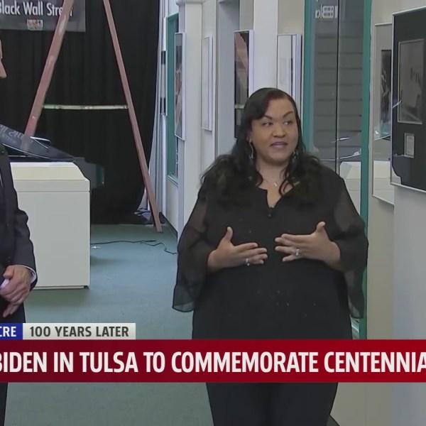 Oklahomans gather in Tulsa as President Biden memorializes loss of life, prosperity in Tulsa Race Massacre