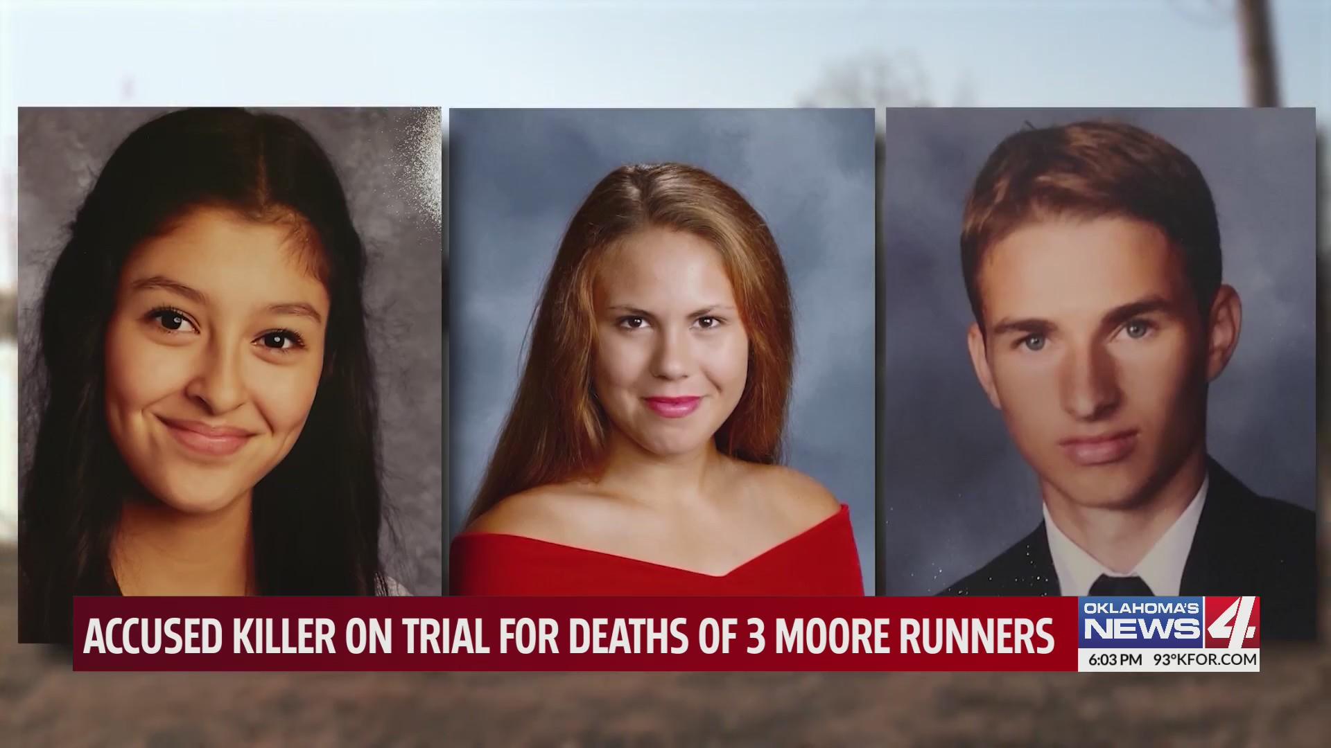 16-year-old Yuridia Martinez, 17-year-old Rachel Freeman and 18-year-old Kolby Crum