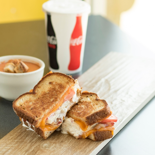 Tom & Chee grilled cheese