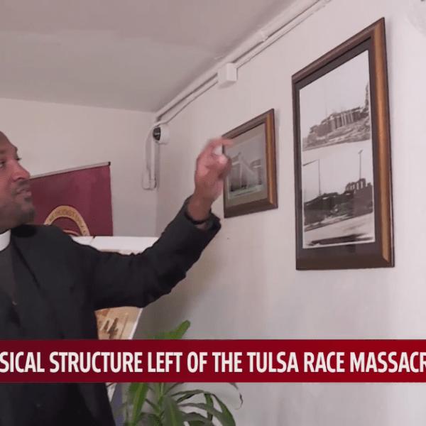 Vernon AME Church from Tulsa Race Massacre