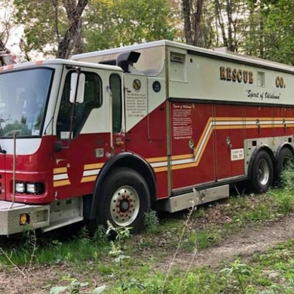 Spirit of Oklahoma rescue fire truck