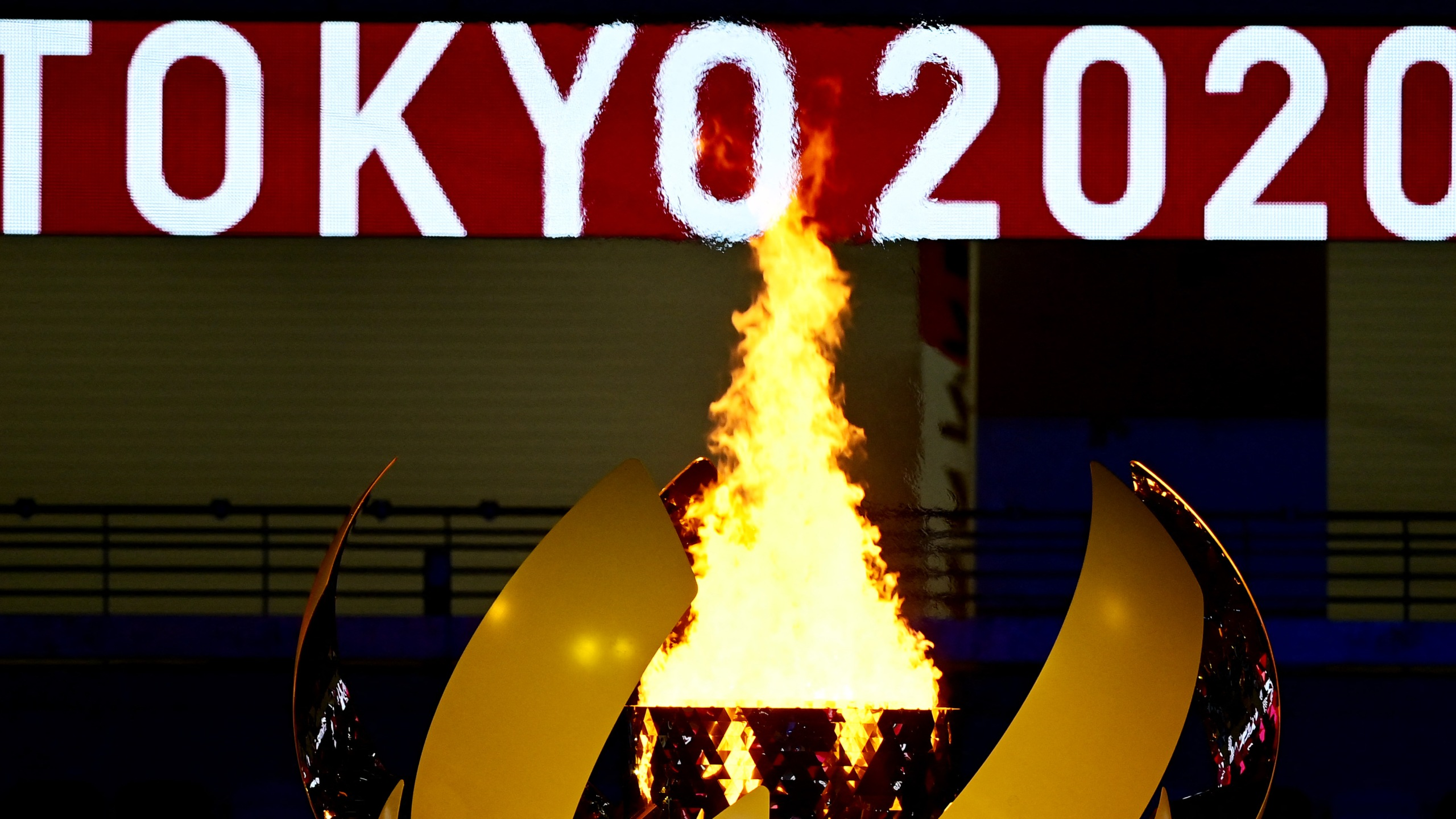 image of olympic flame