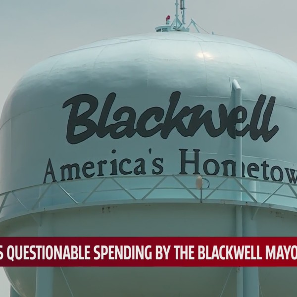 City of Blackwell water tower