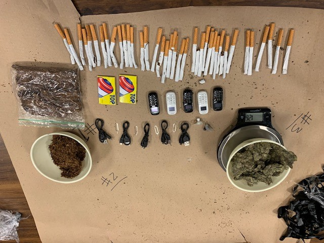 Contraband photo by Oklahoma County Corrections Center