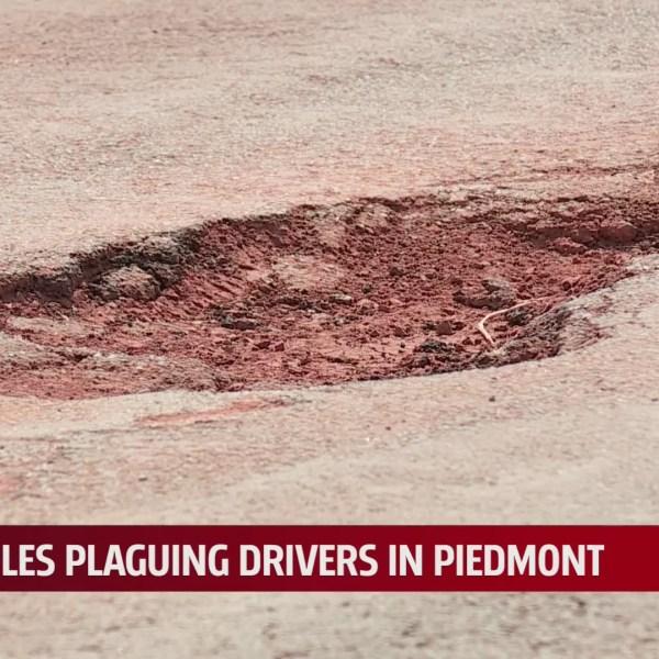 Piedmont pothole