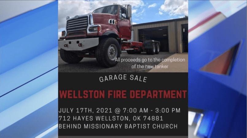 Wellston garage sale