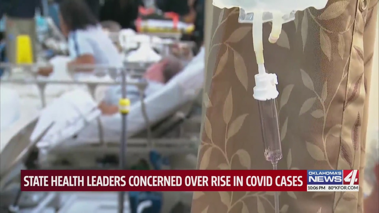 Top Oklahoma doctor calls upon Gov. Stitt to take action as COVID-19 hospitalizations rise in the state