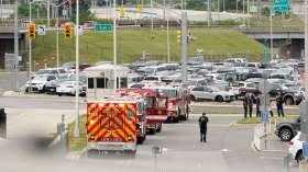 image of pentagon lockdown