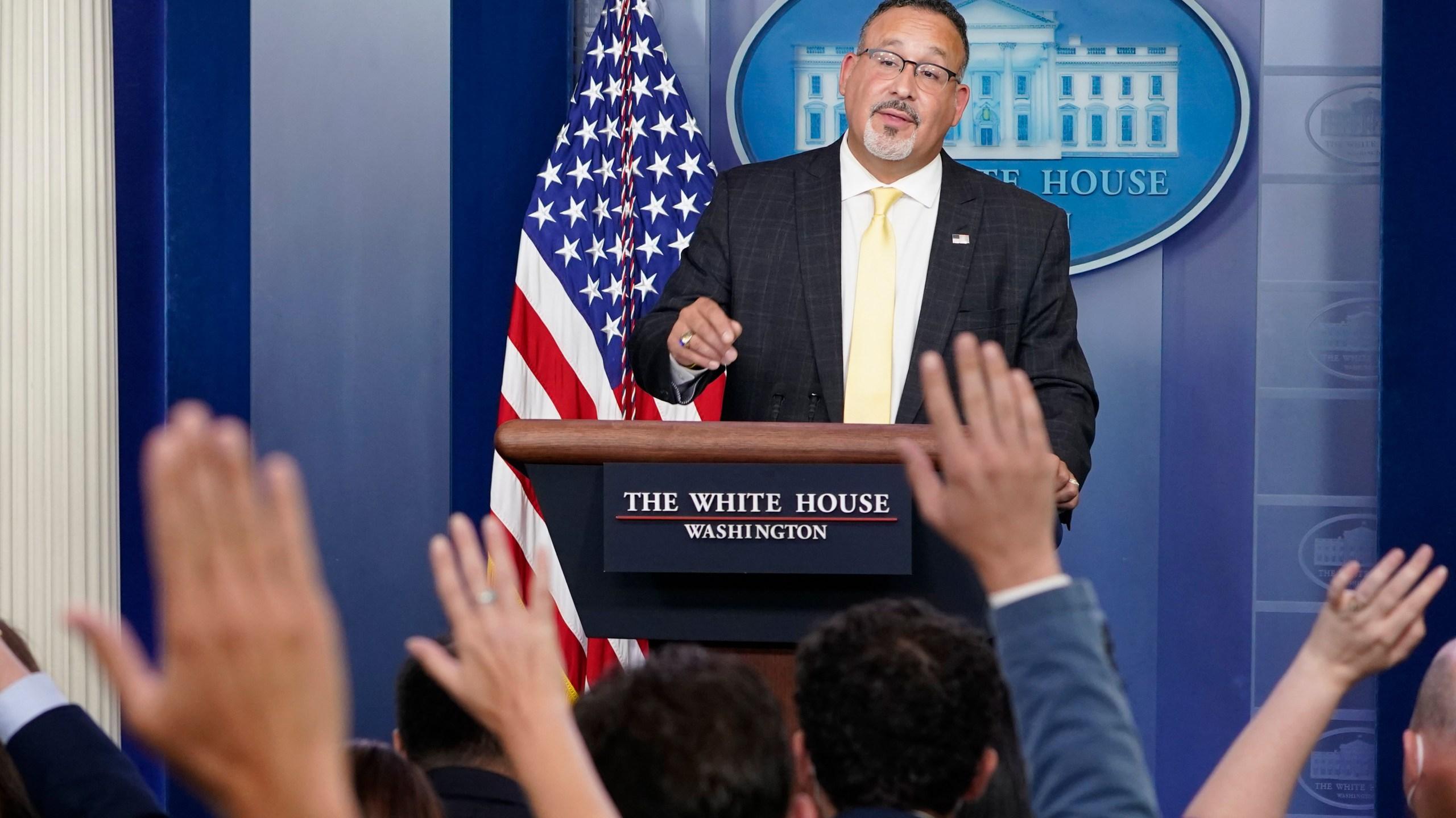 image of Education Secretary Miguel Cardona