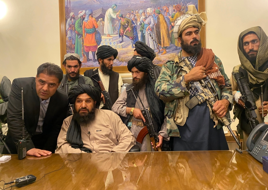 image of taliban fighters