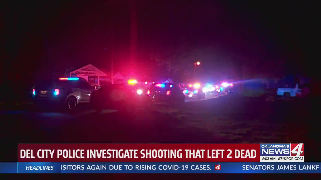 Deadly double shooting in Del City