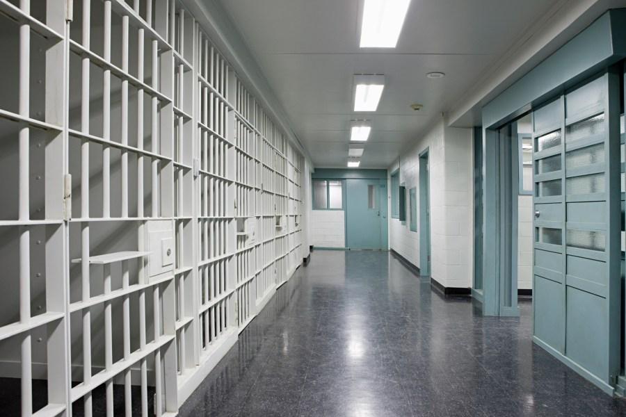 FILE Photo: Generic jail/prison corridor via Getty