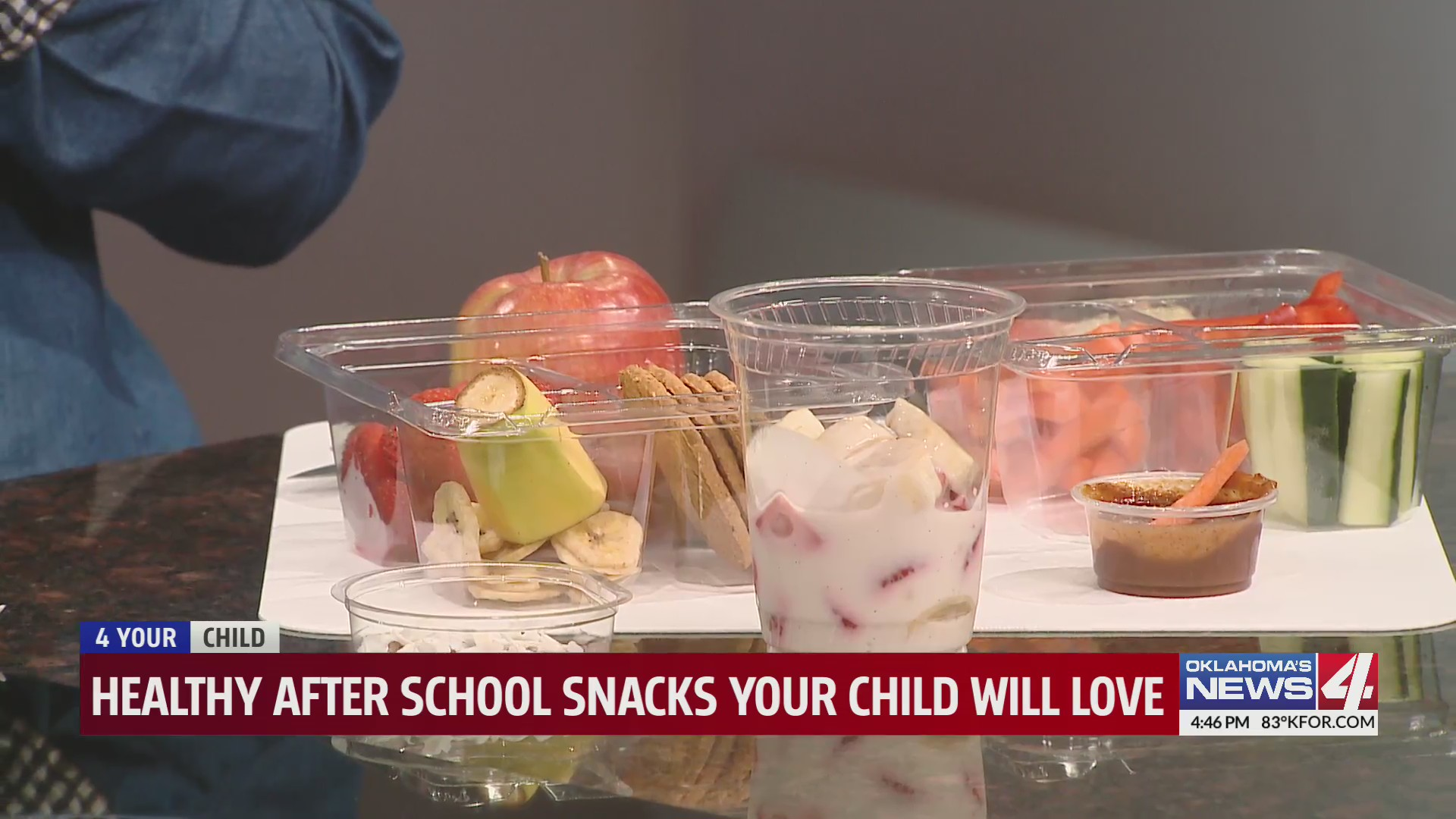 Healthy after-school snacks 4 your student