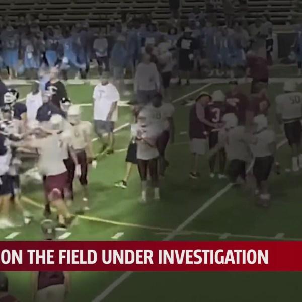 Video of El Reno vs. Clinton football scrimmage altercation