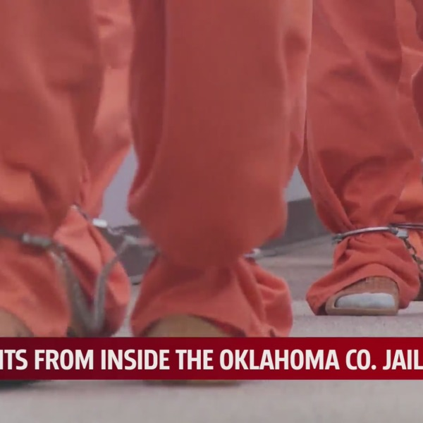 Image of jail inmate feet