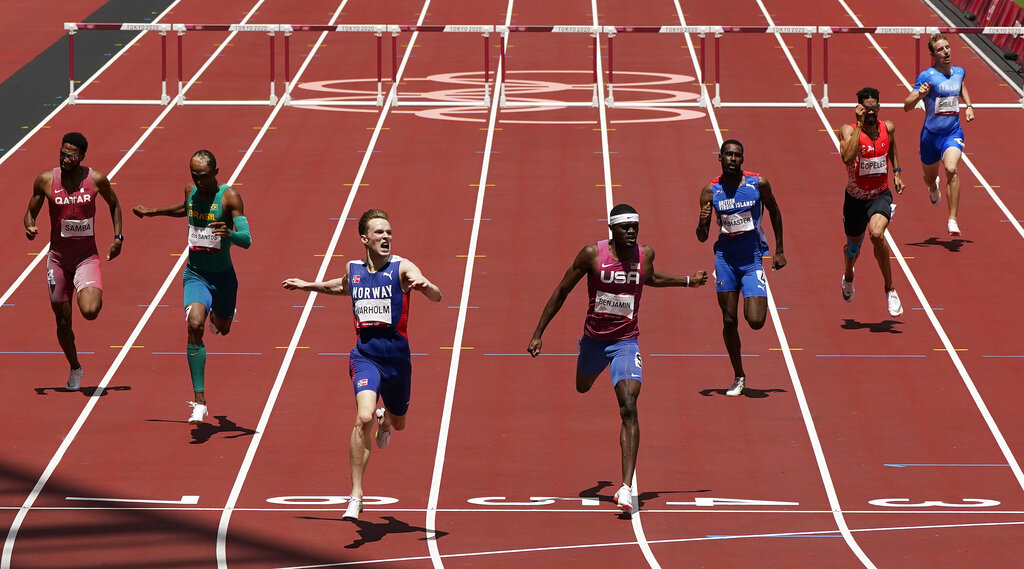 image of olympic track competition