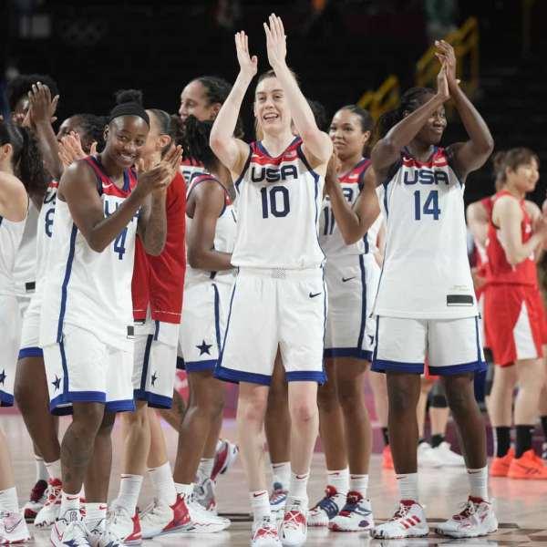 image of team usa women basketball