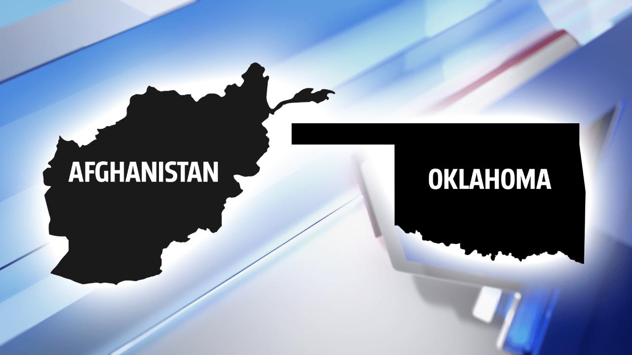 Afghanistan and Oklahoma graphic