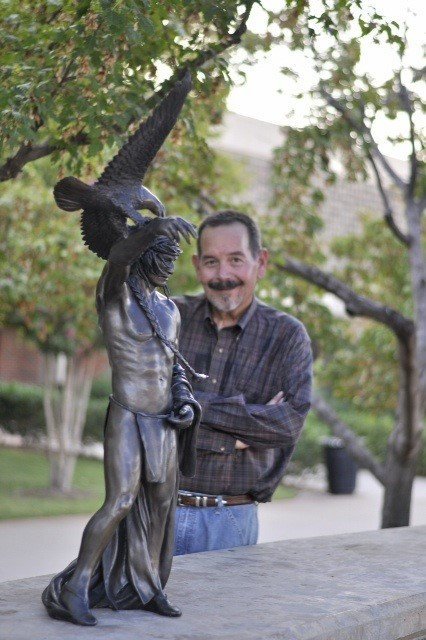 American Statue with Shan Gray. Photo Evan P. Hill