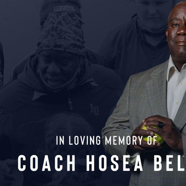 Langston University's en memorium for coach Hosea Bell