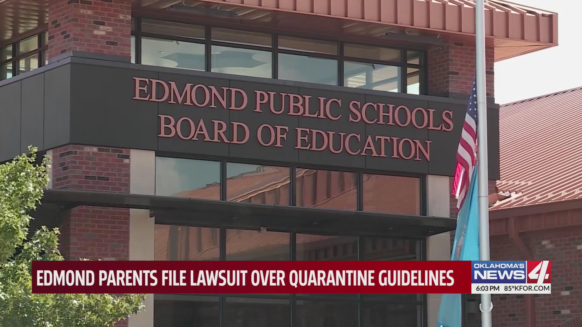 Exterior of Edmond Public Schools Board of Education building